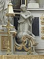 Redon (35) Abbatiale Saint-Sauveur - Intérieur - Maître-autel 07.jpg