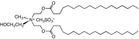 Redrawn diesterquat salt (methanesulfonate anion) related to fabric softeners.png