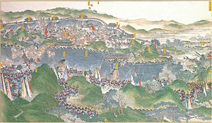 Xiang Army - The Xiang Army recapturing Jinling, a suburb of the Taiping capital, July 19, 1864