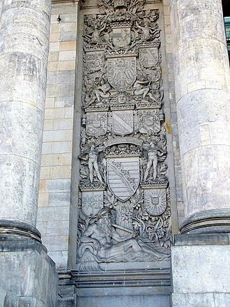 Otto Lessing (sculptor) - Image: Reichstag right