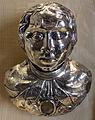 Reliquiario a forma di busto di santo, argento, xv e xvii sec.JPG