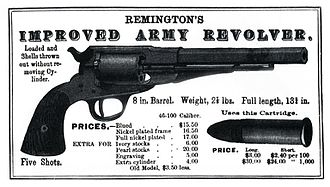 E. Remington and Sons - Remington .46 Conversion display