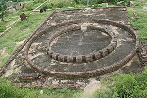 Viratnagar - The Remains of a very flourishing Buddhist Stupa reminding of the areas's Buddhist past as well.