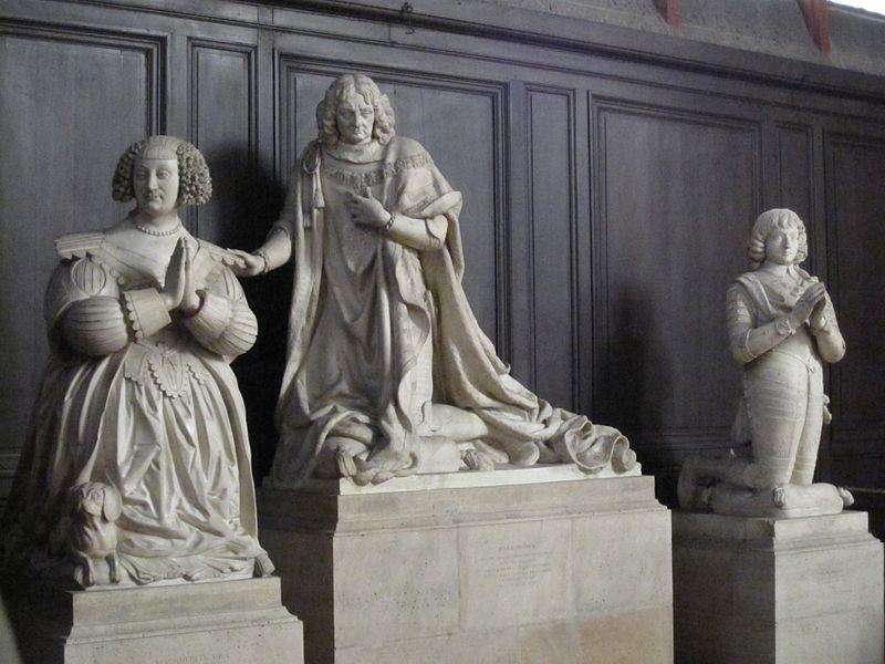 Les tombeaux princiers du couvent des Célestins, à Paris 800px-Ren%C3%A9_Potier_duc_de_Tresmes