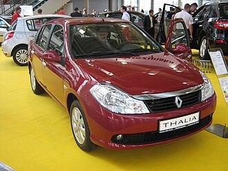 Renault Symbol - Image: Renault Thalia II front PSM 2009