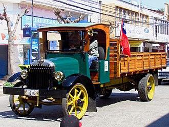 Republic Motor Truck Company - Republic truck from 1923