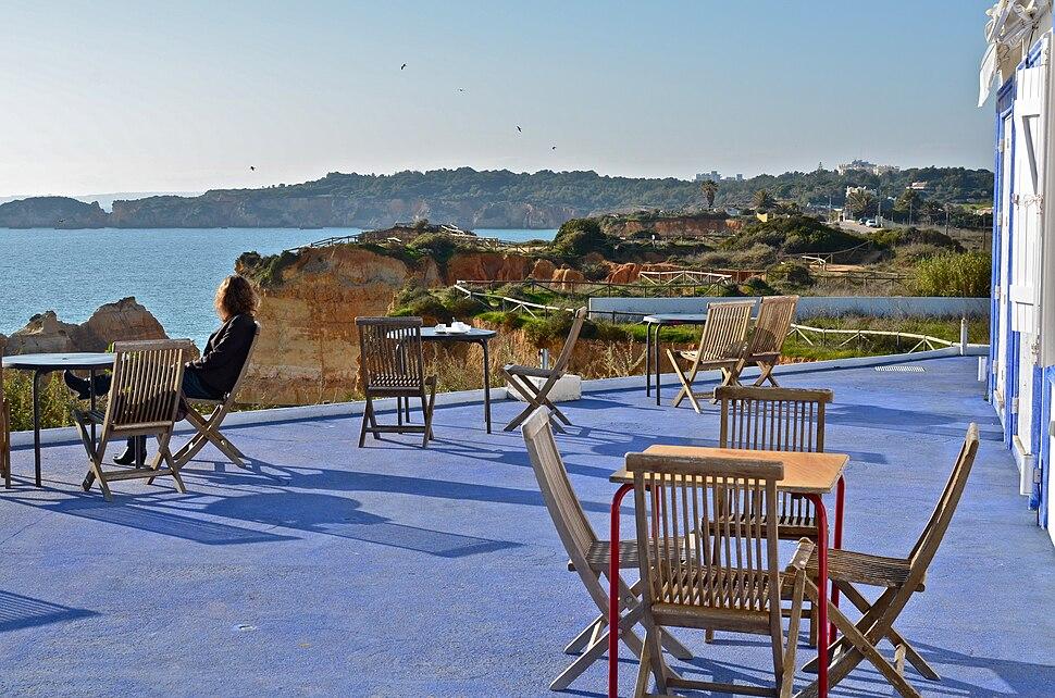 Restaurant Ao Mar and Bar Cloque, Praia dos Três Castelos, Portimão
