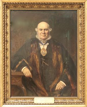 Worshipful Company of Clockmakers - The Reverend Henry Leonard Nelthropp MA FSA, Master of the Worshipful Company of Clockmakers of the City of London 1893 and 1894.