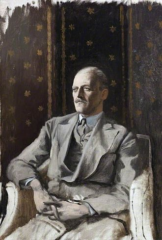 Beaudesert (house) - The 6th Marquess of Anglesey, by Rex Whistler