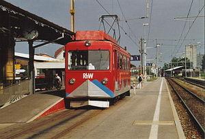 Rheineck railway station - Image: Rh W 3