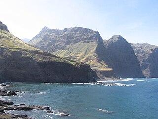 Cruzinha village in Cape Verde
