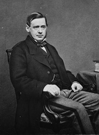 Lyons family - Richard Lyons, 1st Viscount Lyons, photographed by Mathew Brady