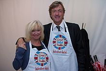 Celebrity supporters of The Great British Brekkie, Richard and Judy.