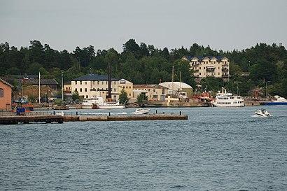 Vägbeskrivningar till Rindö Smedja med kollektivtrafik