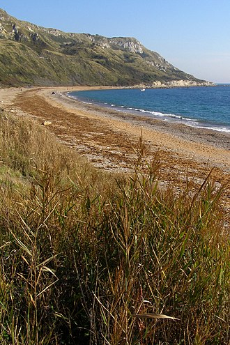 Ringstead Bay - Image: Ringstead bay white nothe