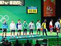 Rio 2016 - Weightlifting men's 69 kg (29049407380).jpg