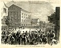 Riot in Richmond, May 11, 1867 - The soldiers dispersing the mob (16811054073).jpg