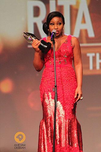 Rita Dominic - Rita Dominic at the Africa Magic Viewers Choice Awards in Lagos, Nigeria, March 2014