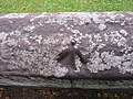 Rivet bench mark on the city walls - geograph.org.uk - 1495117.jpg