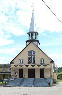 Rivière-Éternité, Quebec Auberge du Presbytère.JPG