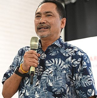 Rizal Mallarangeng Indonesian politician and author