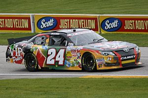 Derek White (racing driver) - White's No. 24 at Road America in 2013