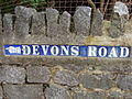 Road name sign, Devons Road - geograph.org.uk - 1148975.jpg