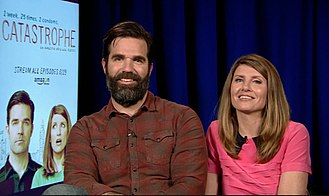 Rob Delaney - Rob Delaney and Sharon Horgan interviewed about Catastrophe in 2015