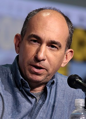 Robert C. Cooper - Cooper at the 2017 San Diego Comic-Con