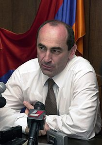Robert Kocharyan's Interveiw, 2003.jpg