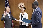 Robert L. Sumwalt III was sworn in as the NTSB's 14th Chairman (36441783496).jpg