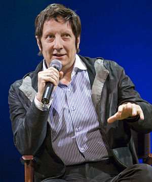 Robert Lepage - Lepage at the European première of Cirque du Soleil's Totem in Amsterdam, October 2010