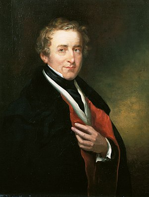 Peelite - Robert Peel was the founder and namesake of the Peelite faction.