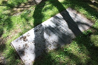 Robert Stevenson (civil engineer) - Robert Stevenson's grave in the churchyard of Glasgow Cathedral