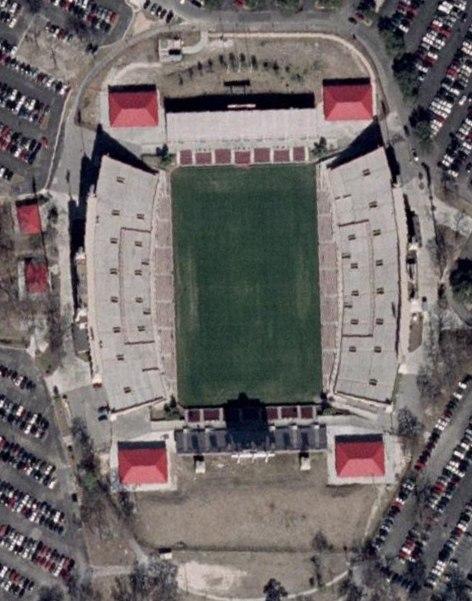 Robertson Stadium aerial