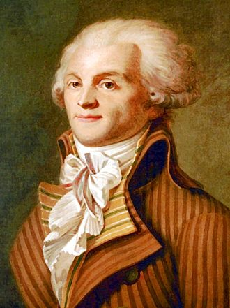 Reign of Terror - Maximilien Robespierre, member of the Committee of Public Safety.