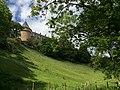 Rochechouart Castle on a Hill.jpg