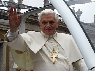 Pope Benedict XVI 265th pope of the Catholic Church