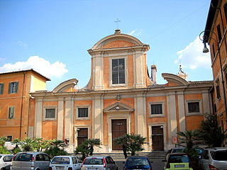 Rome, Trastevere Chiesa di San Francesco a Ripa