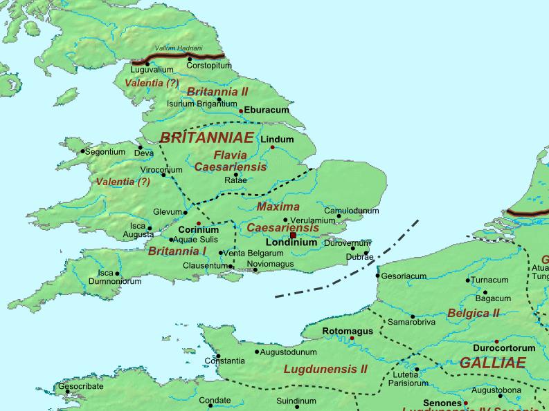 Roman Britain - AD 400