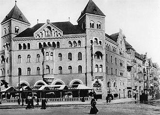 Romanisches Café - Romanisches Haus, about 1900