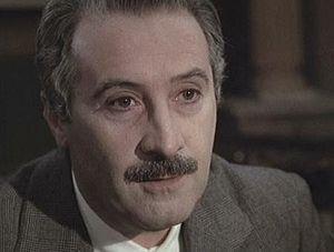 Romolo Valli - Valli in ''The Garden of the Finzi-Continis'' (1970)