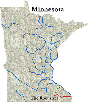 Root River (Minnesota) - The Root River