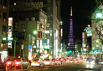 Roppongi - Roppongi at night