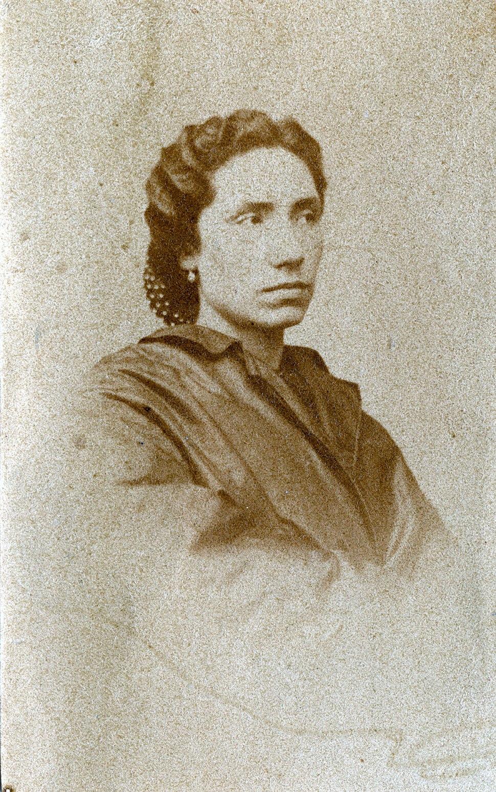 Foto feita sobre 1865, por M.ª Cardarelly.