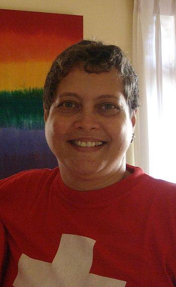 Rosanna Flamer-Caldera, LGBT acivist from Sri ...