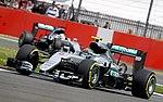 Rosberg Hamilton Q3 British GP 2016.jpg