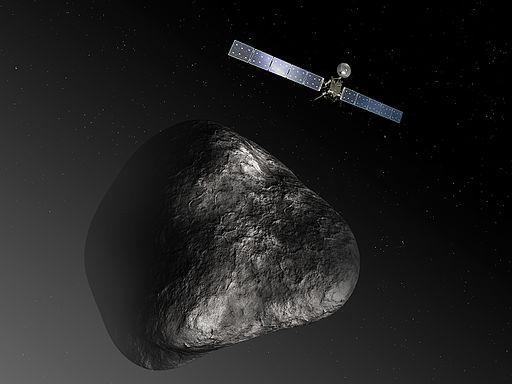 Rosetta at comet (11206655966)