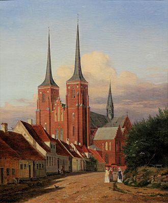 Jørgen Roed - Jørgen Roed, Roskilde Cathedral, 1833-1838, ARoS Aarhus Kunstmuseum.