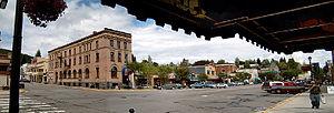 Rossland, British Columbia - Rossland's main street